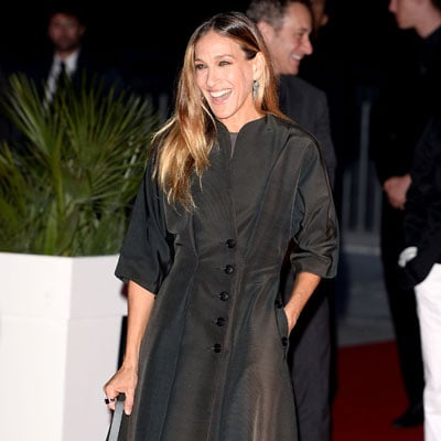 Sarah Jessica Parker at Calzedonia Show in Italy