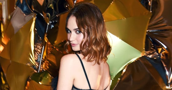 Lily James Is the New Face of My Burberry Black Fragrance
