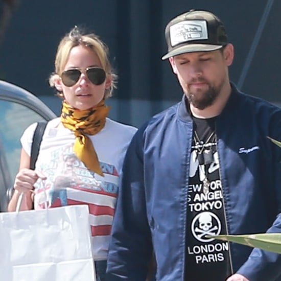 Joel Madden and Nicole Richie Out in LA April 2016