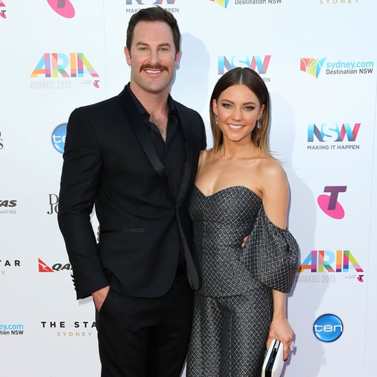 Celebrity Arrivals on 2015 ARIAs Red Carpet