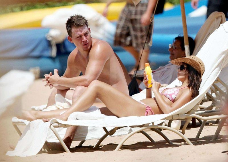 Channing and Jenna Have More Hawaii Bikini Kissing To Do