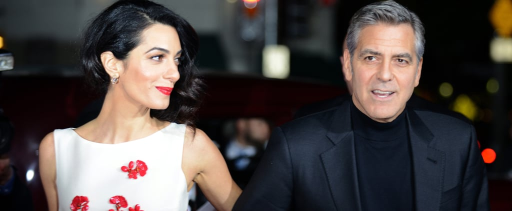 Amal Clooney Took Us Right Back to Her Wedding Weekend With Just 1 Dress