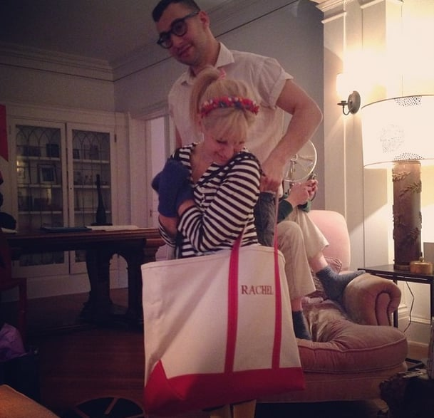 He and his sister, designer Rachel Antonoff, are adorable best friends.