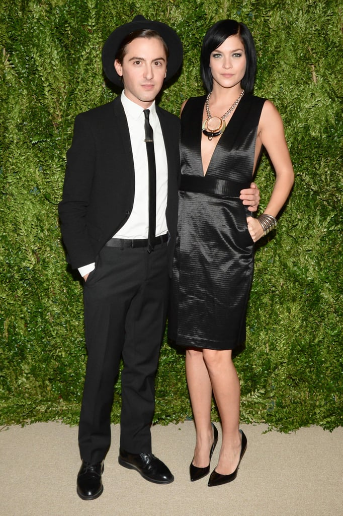 Eddie Borgo and Leigh Lezark at the CFDA/Vogue Fashion Fund Awards.