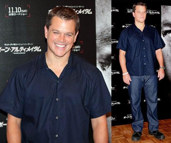 Matt's Not Ready to See Bourne Go