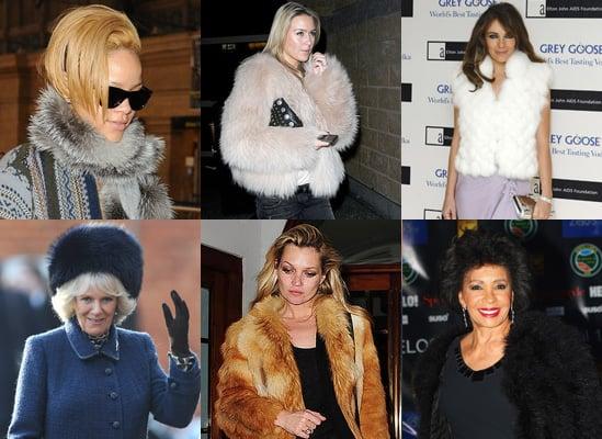 PETA Names Worst Dressed Celebrities Who Endorse Fur in 2009