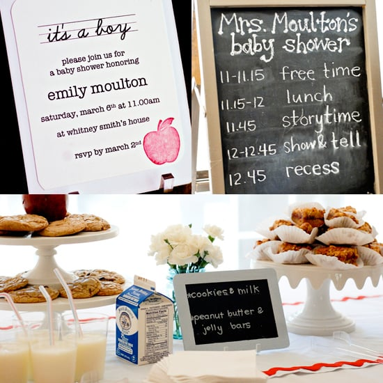 School-Themed Baby Shower