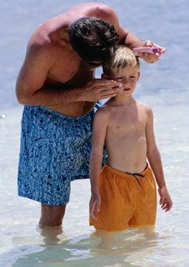 Kiddie Wellness: Sunburn
