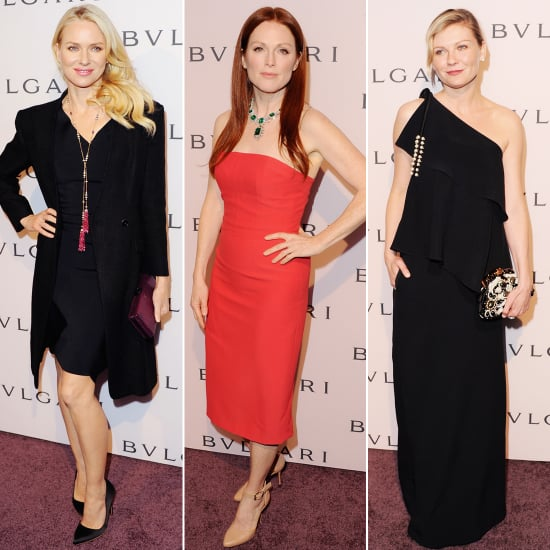 Bulgari's Pre-Oscars Soiree Brings Out the Stars and Major Jewelry