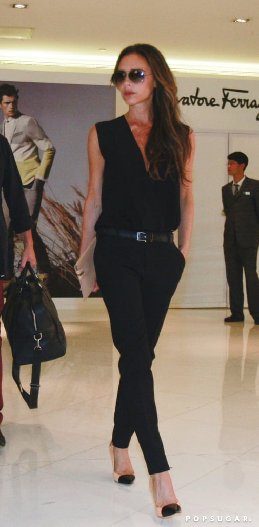 Victoria Beckham Balances Work and Play in Beijing