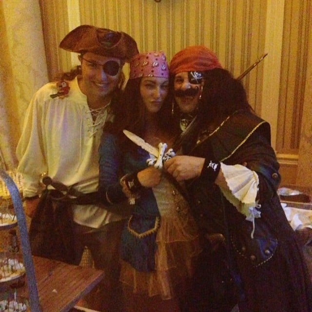 Johnny Iuzzini Dressed Like a Pirate