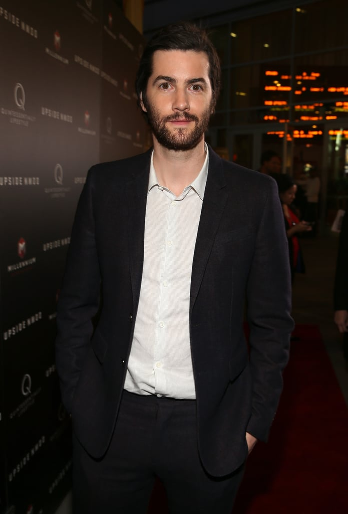 Jim Sturgess suited up for the screening in Hollywood.