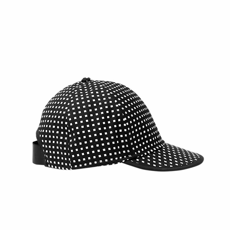 Every Summer I vow to get a hat to keep my fair skin protected from the sun. And every Summer I strike out with a straw topper that turns out to be too bulky for beach activities and bike rides. This July, I'm going streamlined with an easy-to-wear Kate Spade Saturday baseball cap ($35) that will carry me from work to play. — RM