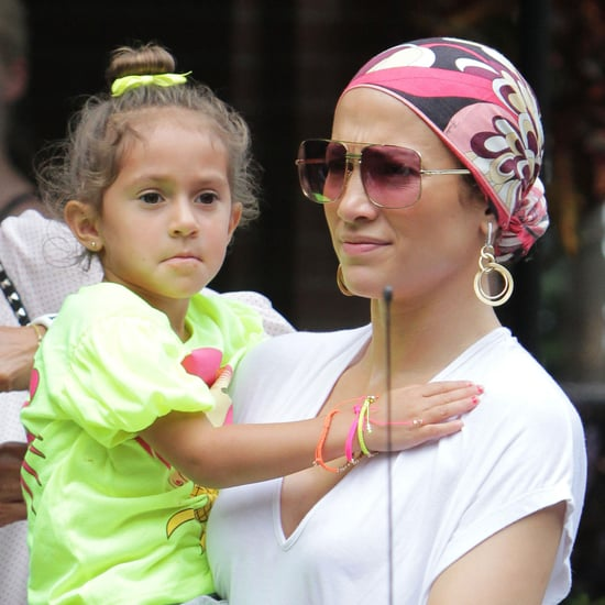 Jennifer Lopez and Casper Smart With Max and Emme | Pictures