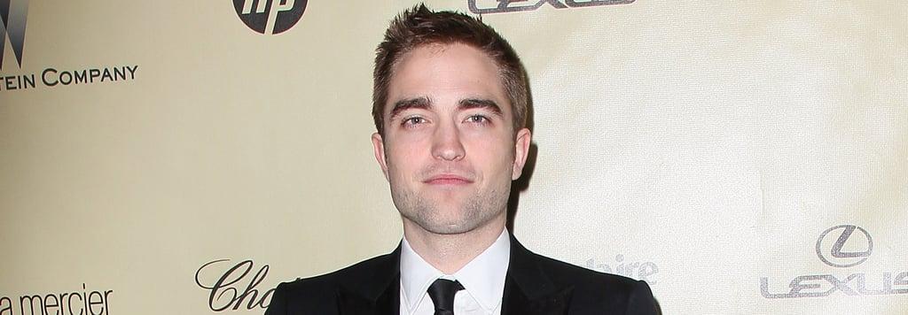 Finally! We Learn the Secret to Robert Pattinson's Good Looks