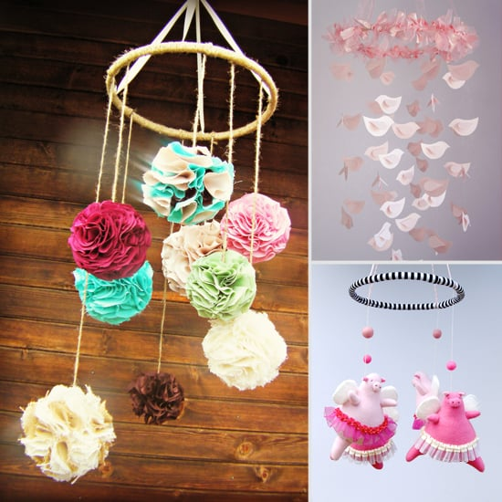 Sweet Handmade Mobiles For Your Baby Girl