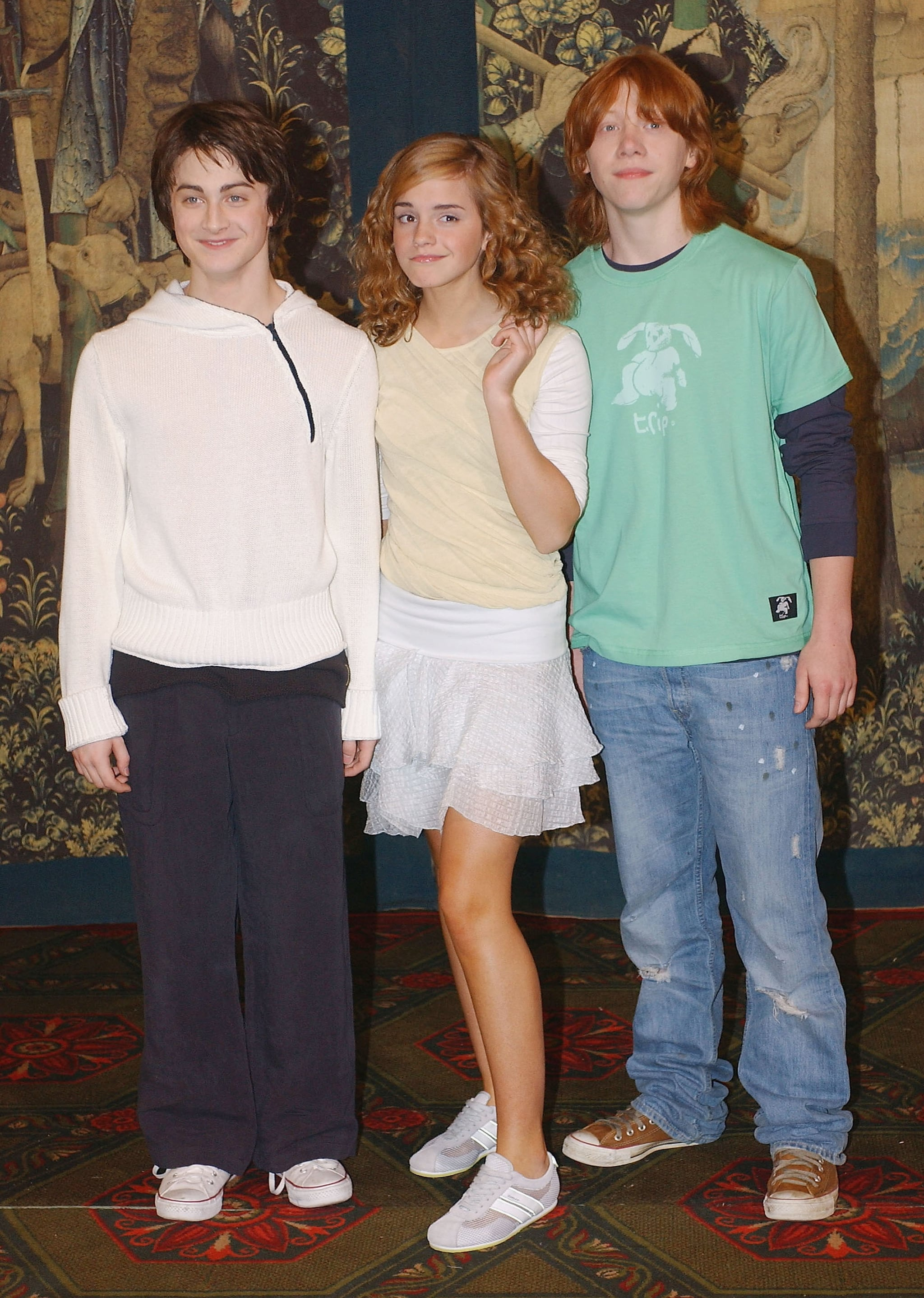 Emma Watson, Rupert Grint, Daniel Radcliffe and Bonnie Wri ... |Radcliffe Watson Grint