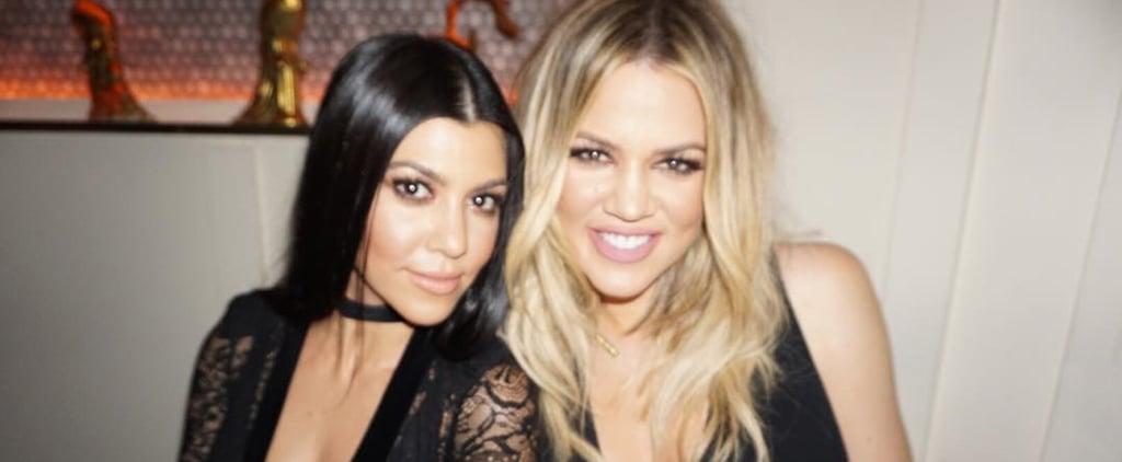 Kourtney and Khloé Kardashian's Snapchat Videos Will Inspire Your Next Workout