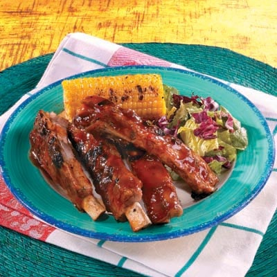 Campbell's Summer Recipes, Honey Barbecued Ribs
