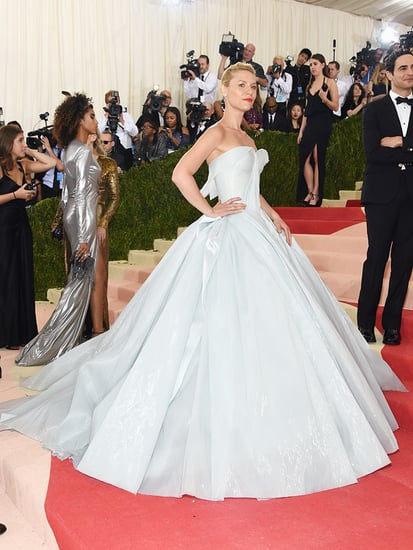 Claire Danes Shines (Literally!) in Glow-in-the-Dark Gown on the Met Gala Red Carpet!