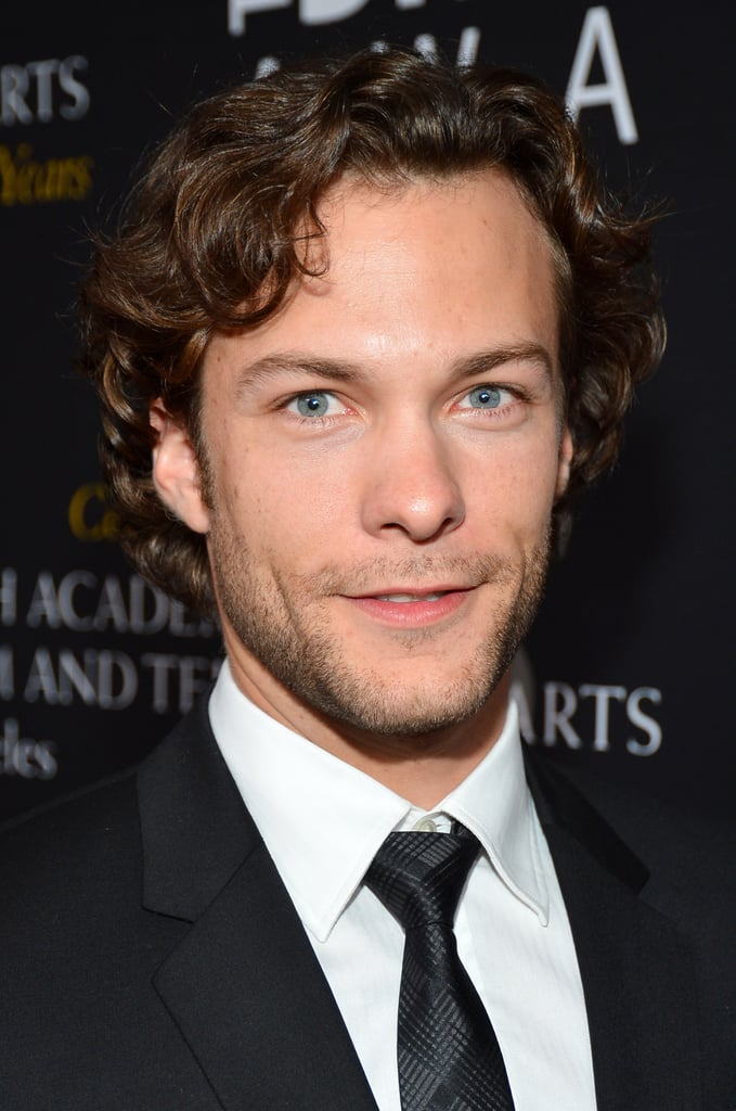 Kyle Schmid arrived on the red carpet looking handsome.