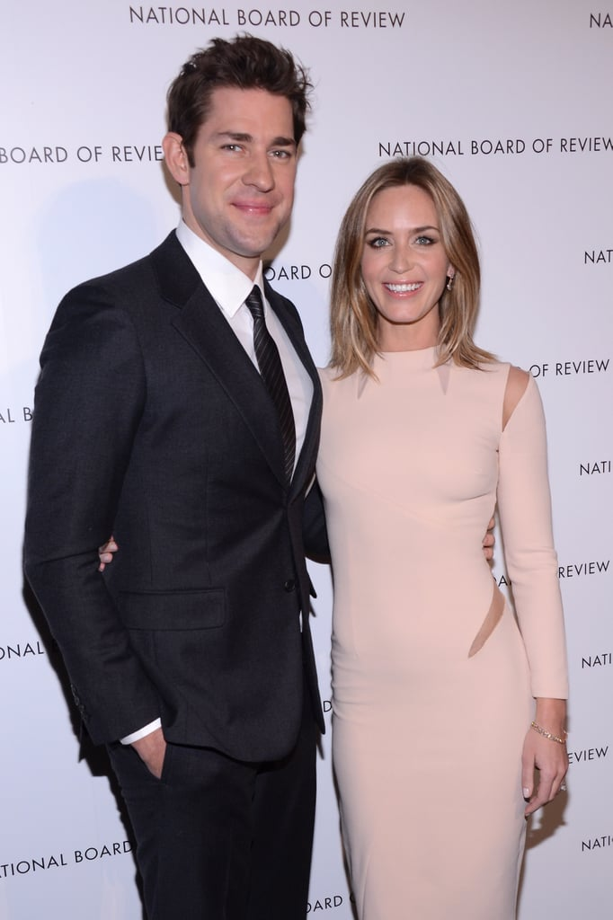 John and Emily attended the National Board of Review Awards in NYC in Jan. 2013.