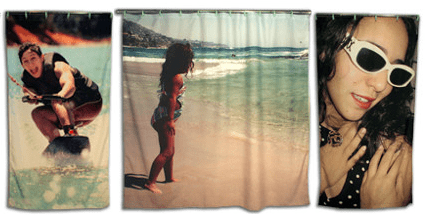 Would You Put Your Photo on a Shower Curtain?
