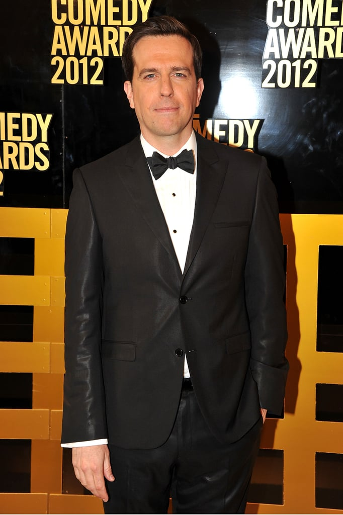 Ed Helms stepped onto the carpet at the Comedy Awards in NYC.