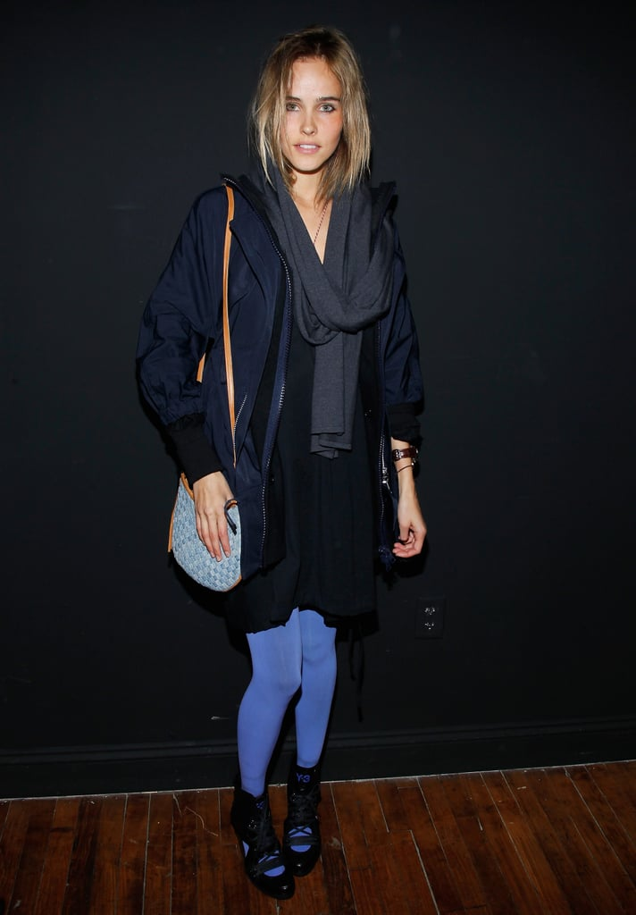 Isabel Lucas at Y-3
