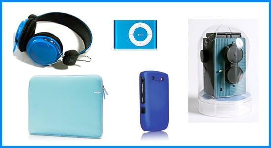 Technicolor Toys: Blue Gadgets and Accessories