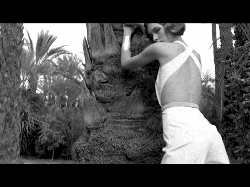 Video of Arizona Muse for Yves Saint Laurent Spring Summer 2011