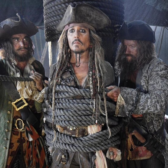 First Picture of Johnny Depp as Jack Sparrow on Pirates 5