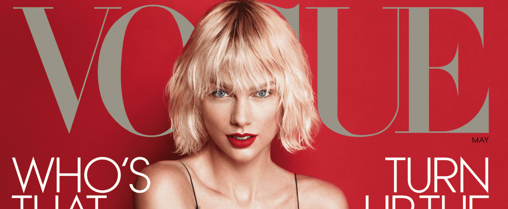 No Need to Adjust Your Screen — This Is Definitely Taylor Swift Wearing a Mini-Dress on American Vogue
