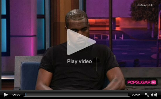 Video of Kanye West On Jay Leno Show Talking About His Mom, Taylor Swift Incident