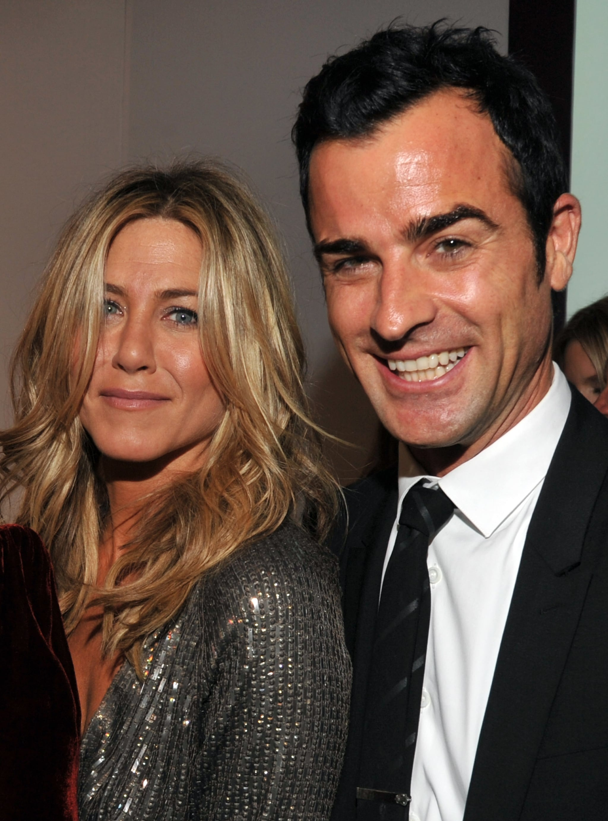 Jennifer Aniston and Justin Theroux attended an event for Elle together in LA.