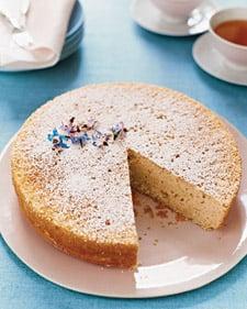 Brighten up mom's morning with a lovely lemon cake.