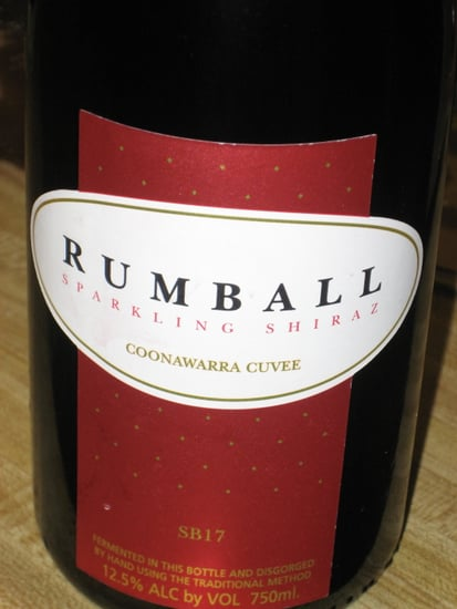 Happy Hour: Rumball Sparkling Shiraz
