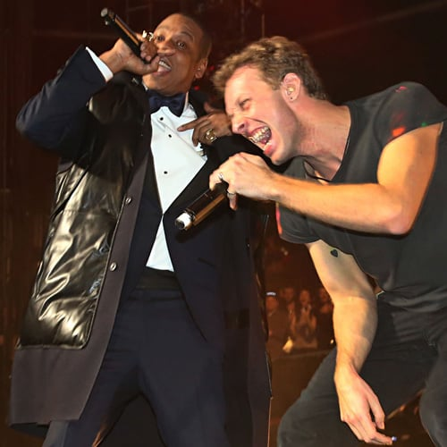 Jay-Z and Coldplay's New Year's Eve Show