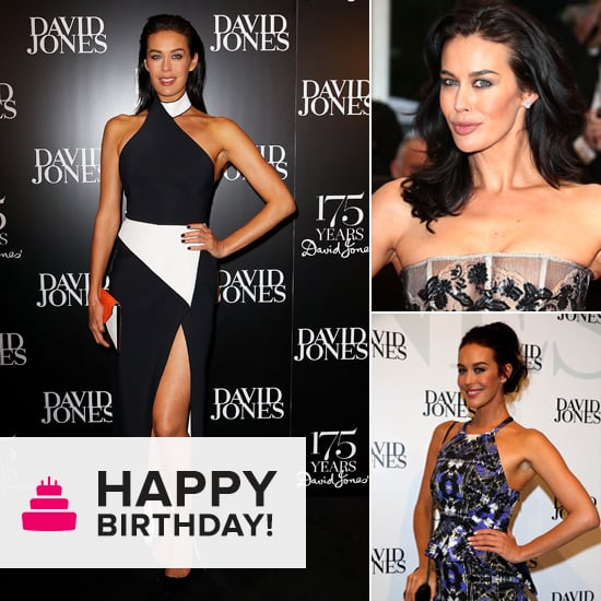 For Her Birthday, Megan Gale's Top 10 Looks