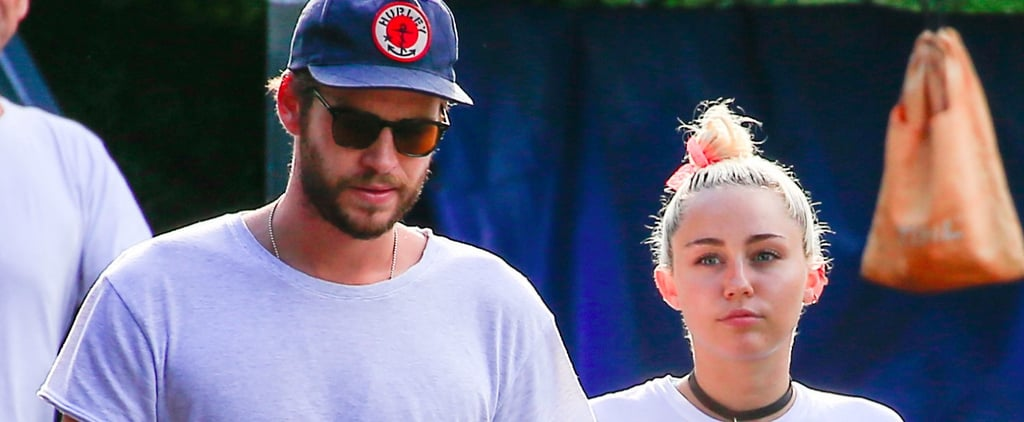 Miley Cyrus and Liam Hemsworth Have a Casual Lunch Date Down Under