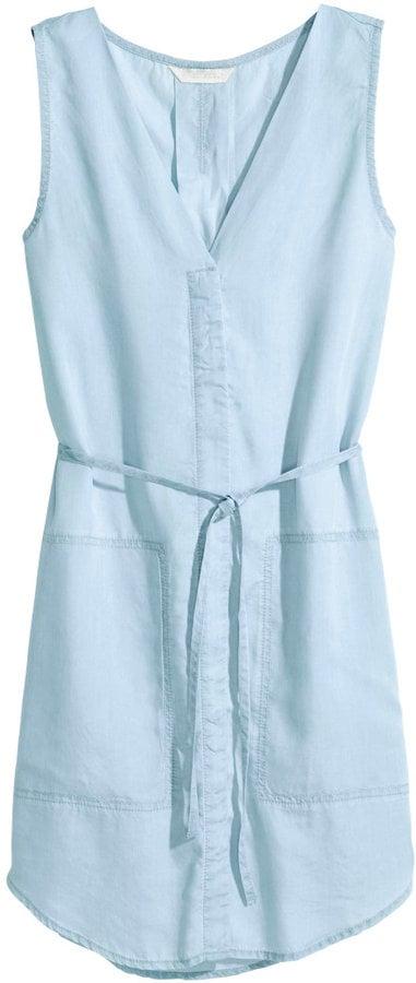 H&M denim dress ($35)
