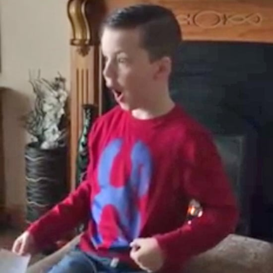 Irish Boy Finds Out He's Going to Be a Big Brother