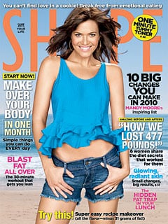 Mandy Moore in the January Issue of Shape Magazine