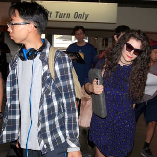 Pictures Of Lorde And Her Boyfriend James Lowe