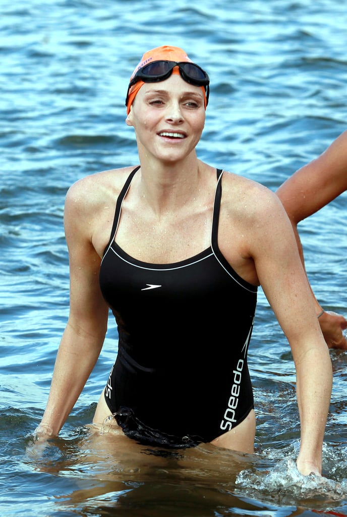 The former Olympic swimmer participated in a swim to raise money for Special Olympics in February 2011. Source: Getty / Rajesh Jantilal/AFP