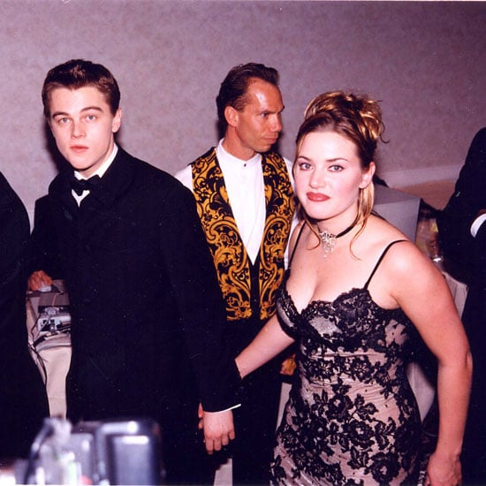 Leonardo DiCaprio and Kate Winslet made their way around that year's awards together.