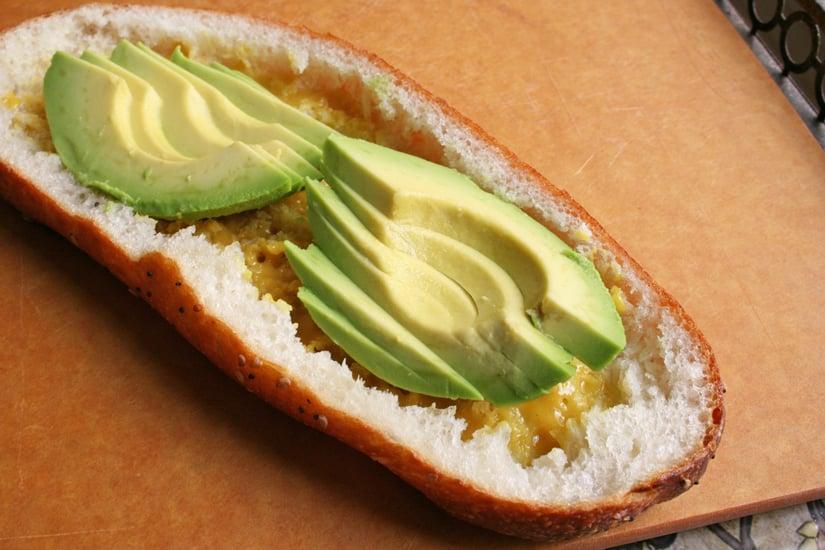 Add the Avocado Slices
