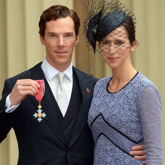 Benedict Cumberbatch Honored by Queen Elizabeth II