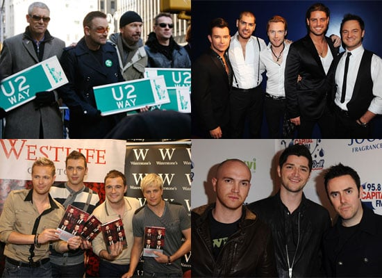 Pop Poll on Favourite Irish Bands From U2, Boyzone, Westlife, The Script For St Patrick's Day