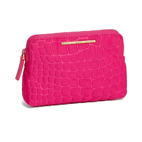 Keep her beauty accoutrements looking stylish when they're all stowed away in this Marc by Marc Jacobs cosmetic case ($58).